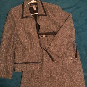 Women's sag harbor wool dress suit size 16